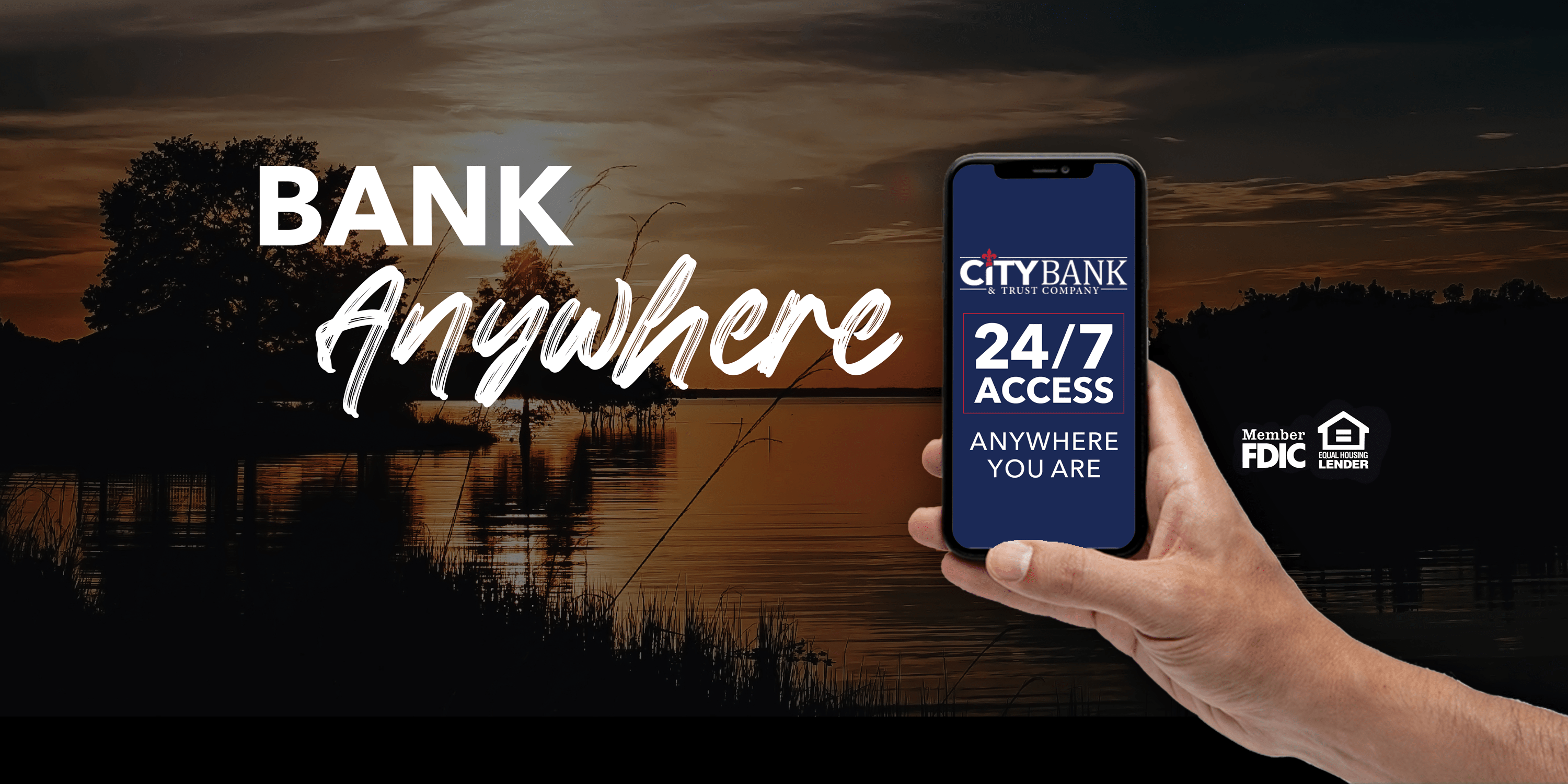 Bank Anywhere with City Bank and Trust Company